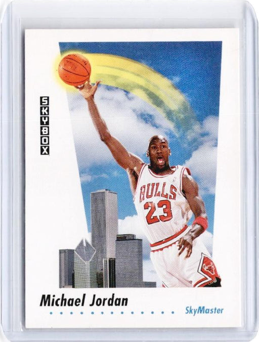 1991-92 Skybox MICHAEL JORDAN #583-Cherry Collectables