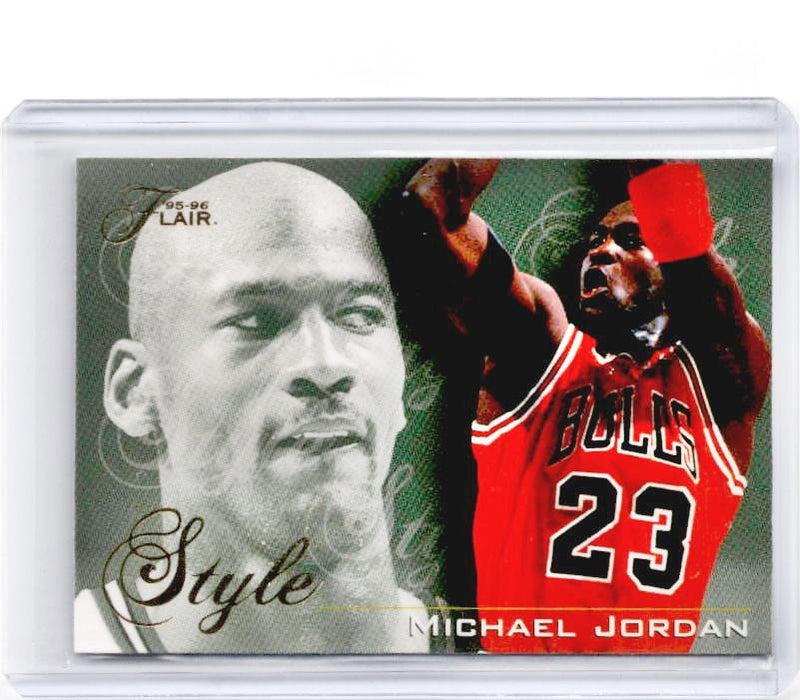 1995-96 Flair MICHAEL JORDAN Style #235-Cherry Collectables