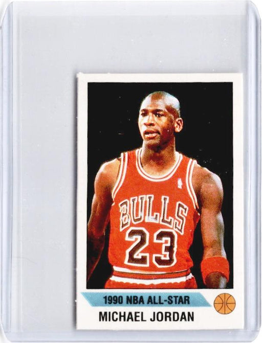 1990-91 Panini MICHAEL JORDAN Mini Sticker #G-Cherry Collectables
