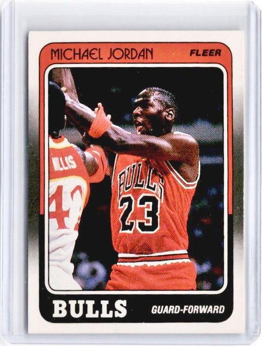 1988 Fleer MICHAEL JORDAN #17-Cherry Collectables