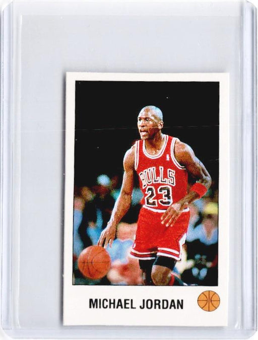 1990-91 Panini MICHAEL JORDAN Mini Sticker #K-Cherry Collectables