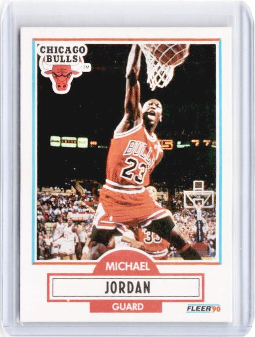 1990 Fleer MICHAEL JORDAN #26-Cherry Collectables