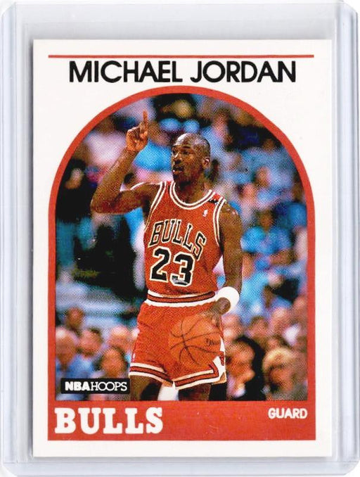 1989 NBA Hoops MICHAEL JORDAN #200-Cherry Collectables