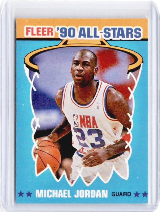 1990 Fleer MICHAEL JORDAN 90's All Stars #5-Cherry Collectables