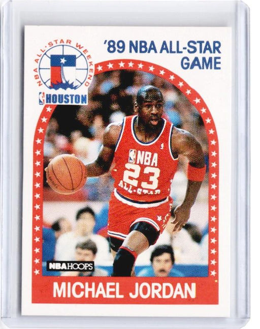 1989 NBA Hoops MICHAEL JORDAN 89 All Star Game #21 - A-Cherry Collectables