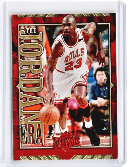 1999 Upper Deck MICHAEL JORDAN Athlete Of The Century The Jordan Era #JE10-Cherry Collectables