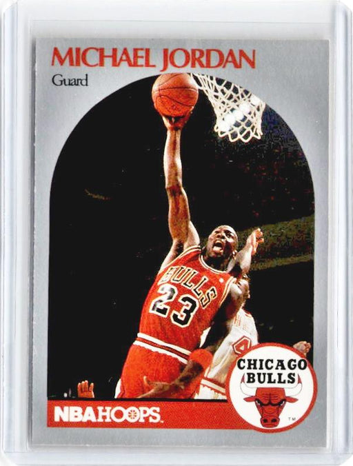 1990 NBA Hoops MICHAEL JORDAN #65 - A-Cherry Collectables