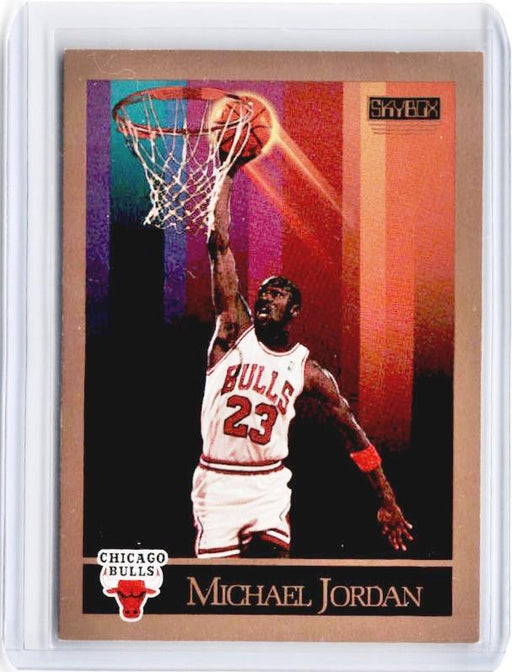 1990 Skybox MICHAEL JORDAN #41-Cherry Collectables