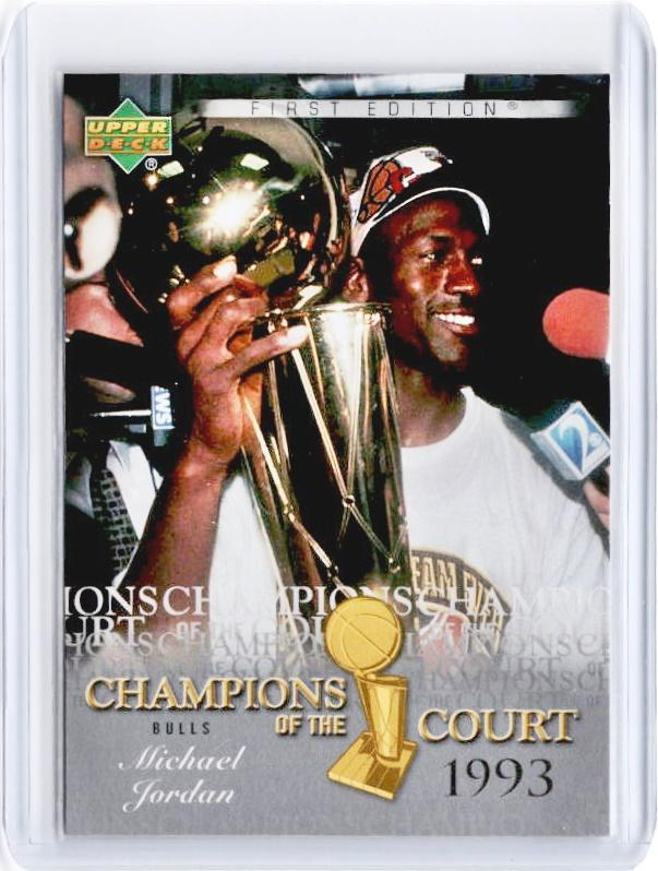 2007-08 UD First Edition MICHAEL JORDAN Champions Of The Court #CCMJ-Cherry Collectables
