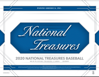 2020 National Treasures Baseball 1-Box Break #2307 (Win White Sox) - Team Based - Feb 24 (5pm)-Cherry Collectables