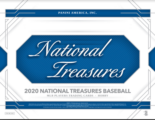 2020 National Treasures MLB 1-Box Break #0838 - Random Team - Oct 23 (Night)-Cherry Collectables