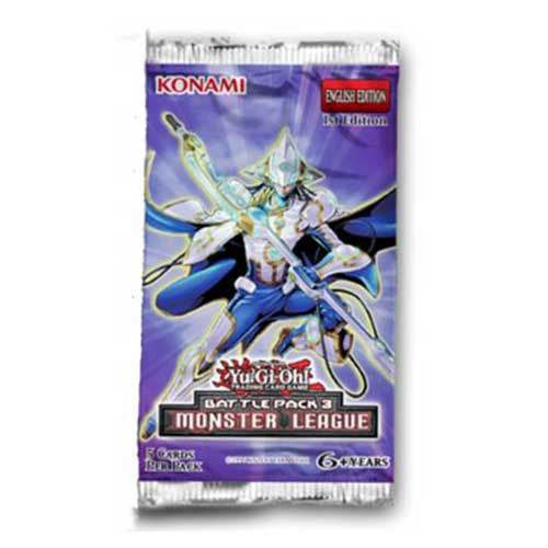 Yu-Gi-Oh! Battle Pack Series 3 - Monsters League Booster Pack-Cherry Collectables