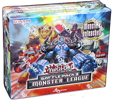 Yu-Gi-Oh! Battle Pack Series 3 - Monsters League Booster Box-Cherry Collectables