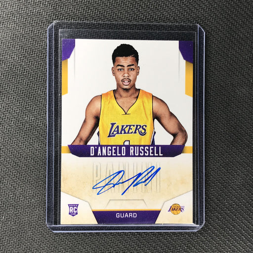 2015-16 Absolute D'ANGELO RUSSELL Next Day Auto Rookie #DR-Cherry Collectables