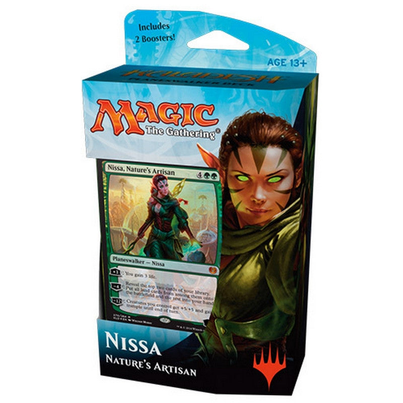 Magic the Gathering Kaladesh Planeswalker Deck - Nissa - Cherry Collectables - 1