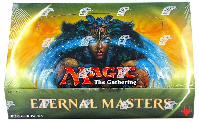 Magic the Gathering Eternal Masters Booster Box-Cherry Collectables