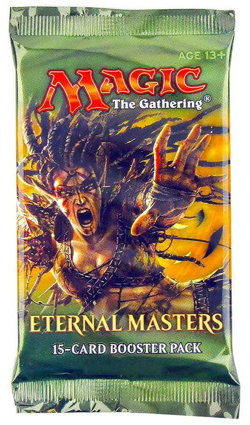 Magic the Gathering Eternal Masters Booster Pack-Cherry Collectables