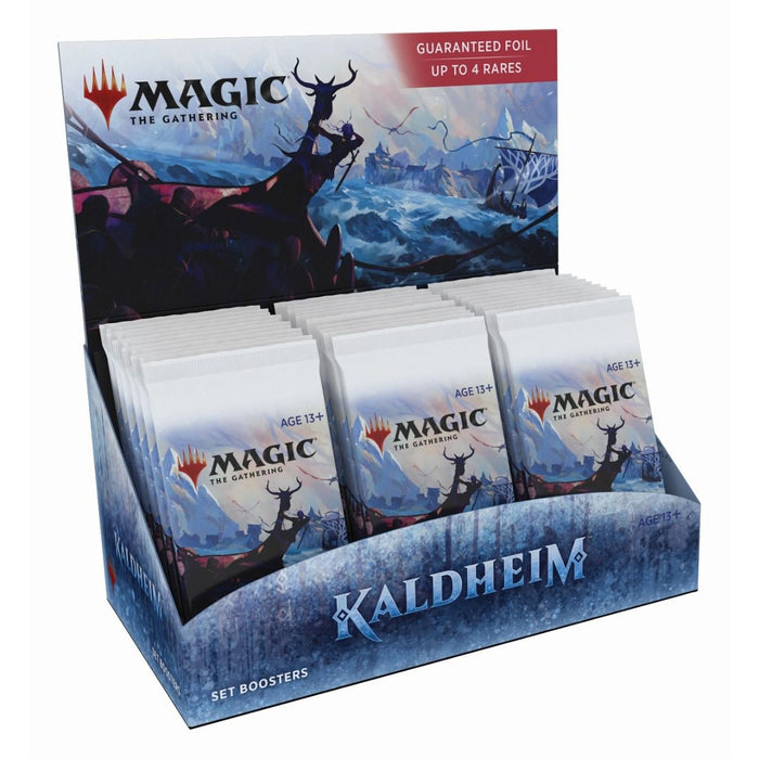 Magic the Gathering Kaldheim Set Booster Box-Cherry Collectables