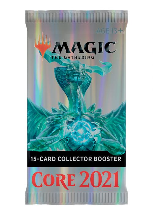 Magic the Gathering Core Set 2021 Collector Booster Pack-Cherry Collectables