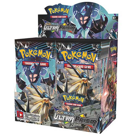 Pokemon TCG Sun & Moon Ultra Prism Booster Box-Cherry Collectables