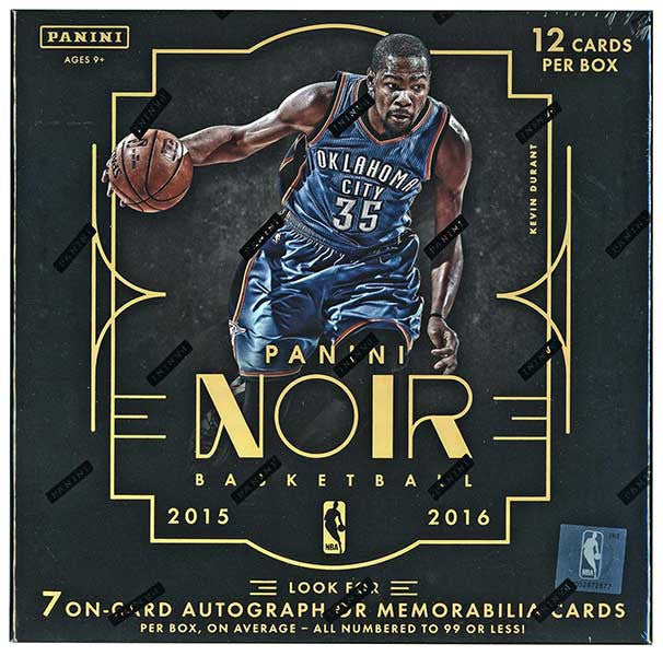 2015/16 Panini Noir Basketball Hobby Box-Cherry Collectables