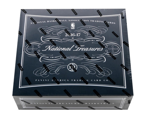 2016/17 Panini National Treasures Basketball Hobby Box-Cherry Collectables