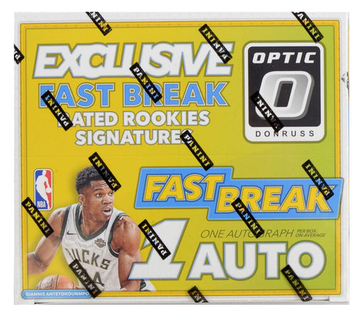 2017-18 Donruss Optic Basketball Fast Break Box-Cherry Collectables