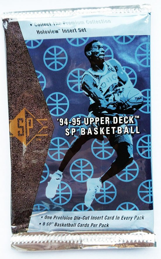 1994/95 Upper Deck SP Basketball Hobby Pack - Cherry Collectables