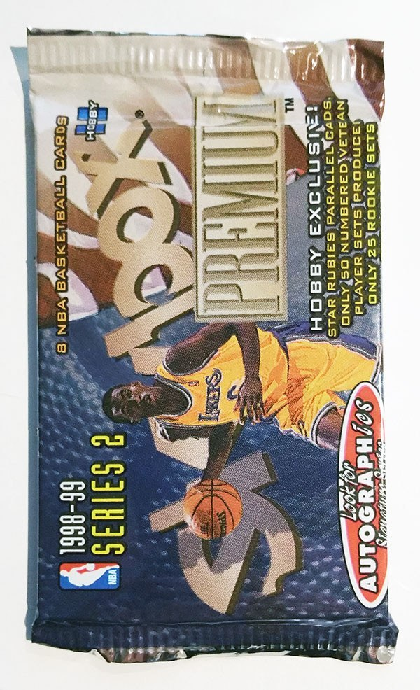 1998/99 Skybox Premium Basketball Hobby Pack - Cherry Collectables