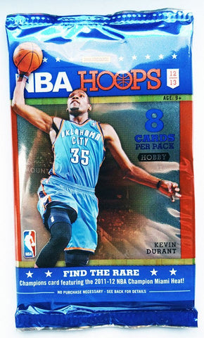 2012/13 NBA Hoops Basketball Hobby Pack - Cherry Collectables