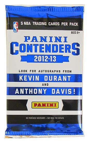 2012/13 Panini Contenders Basketball Hobby Pack-Cherry Collectables