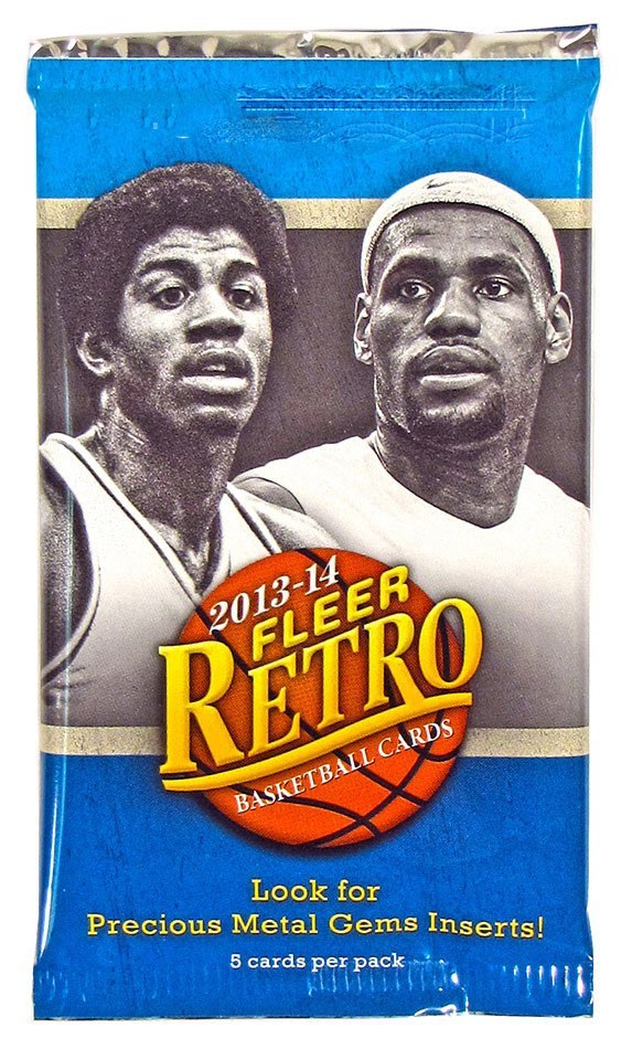 2013/14 Upper Deck Fleer Retro Basketball Hobby Pack-Cherry Collectables