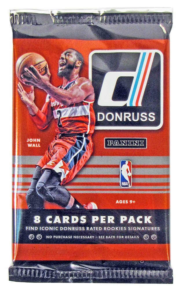 2014/15 Panini Donruss Basketball Hobby Pack-Cherry Collectables