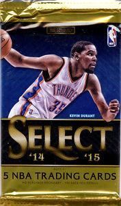 2014/15 Panini Select Basketball Hobby Pack - Cherry Collectables