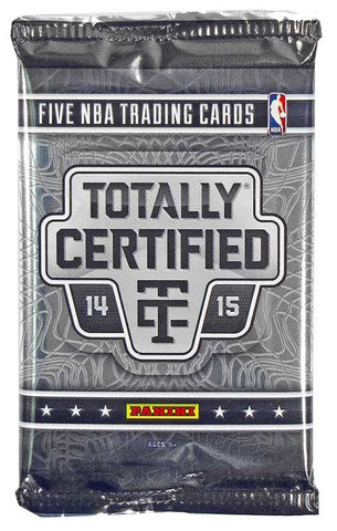 2014/15 Panini Totally Certified Basketball Hobby Pack - Cherry Collectables