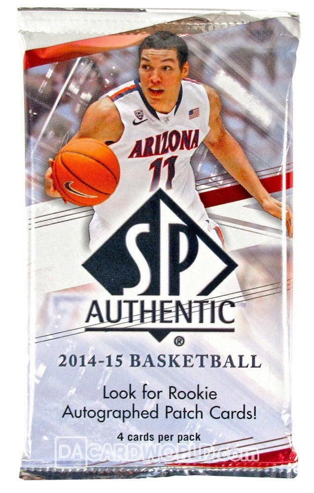 2014/15 Upper Deck SP Authentic Basketball Hobby Pack-Cherry Collectables