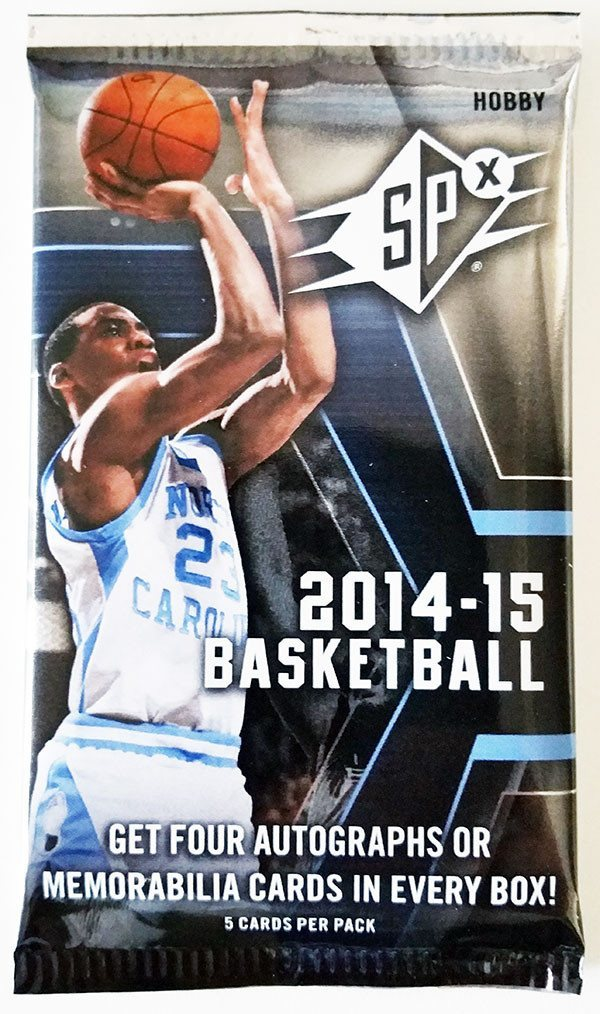 2014/15 Upper Deck SPx Basketball Hobby Pack-Cherry Collectables