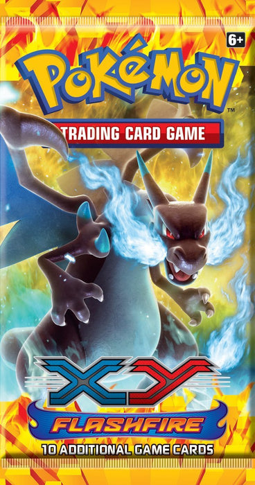 Pokemon XY Flashfire Booster Pack-Cherry Collectables