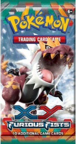 Pokemon XY Furious Fists Booster Pack - Cherry Collectables