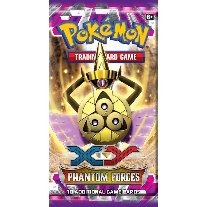 Pokemon XY Phantom Forces Booster Pack-Cherry Collectables