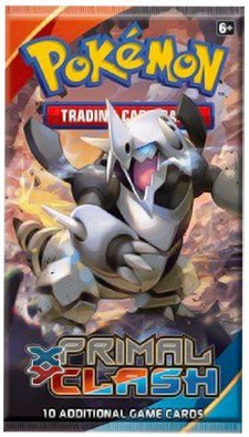 Pokemon XY Primal Clash Booster Pack - Cherry Collectables