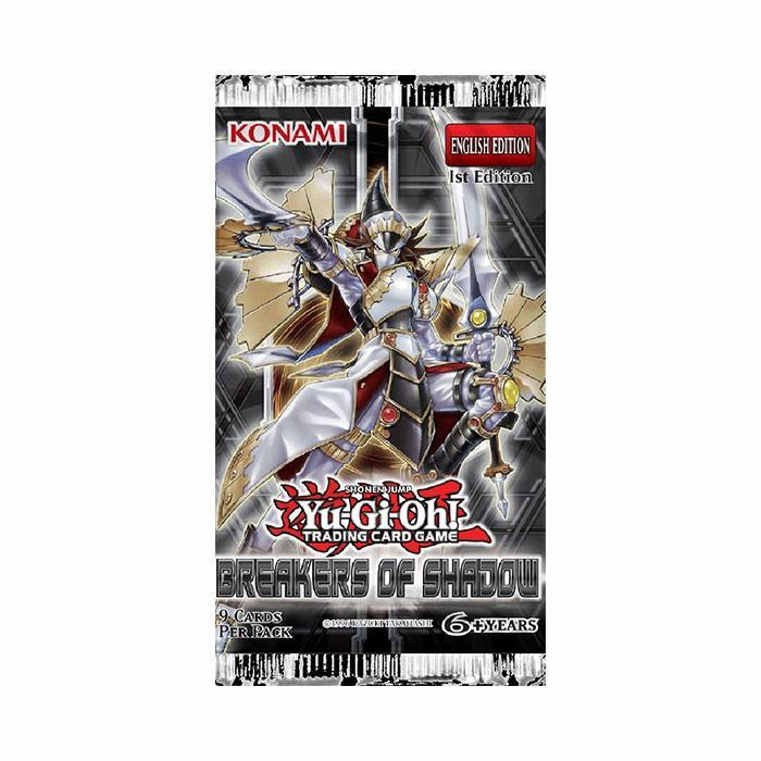 Yu-Gi-Oh! Breakers Of Shadow Booster Pack-Cherry Collectables