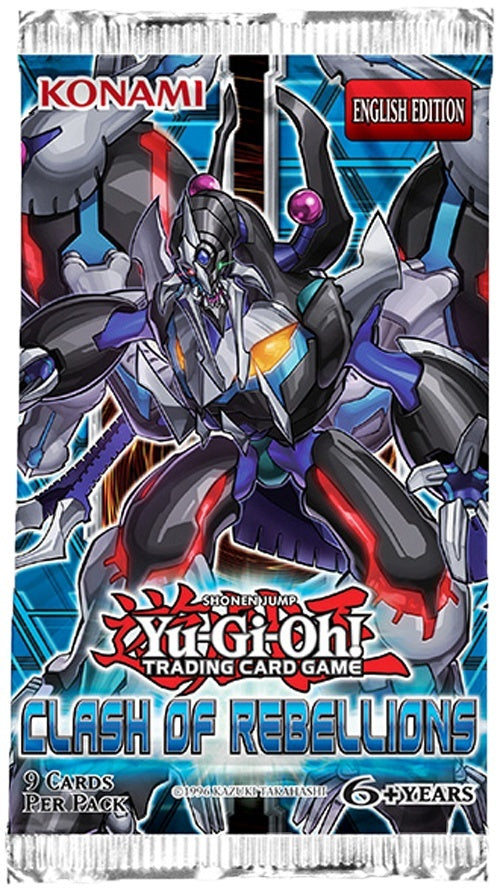 Yu-Gi-Oh! Clash of Rebellions Booster Pack-Cherry Collectables