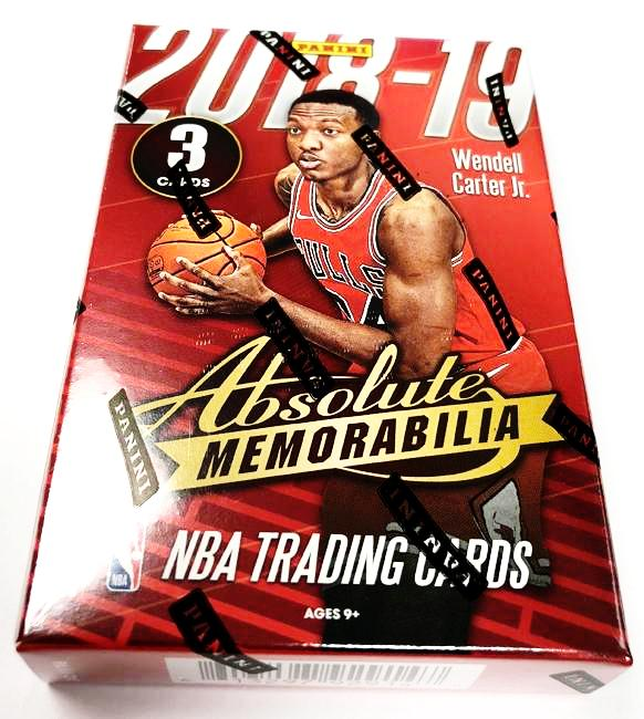 2018-19 Panini Absolute Basketball Hobby Pack-Cherry Collectables