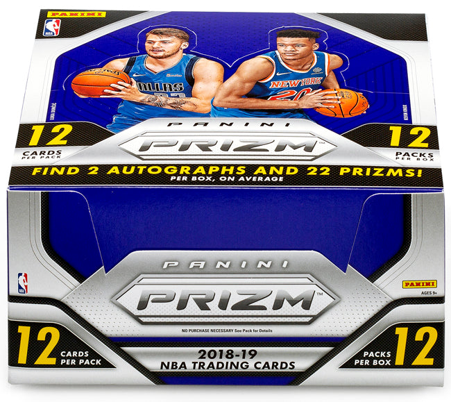 a979cafa602 2018-19 Panini Prizm Basketball Hobby Box-Cherry Collectables
