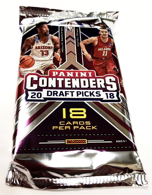 2018-19 Panini Draft Picks Contenders Basketball Hobby Pack-Cherry Collectables