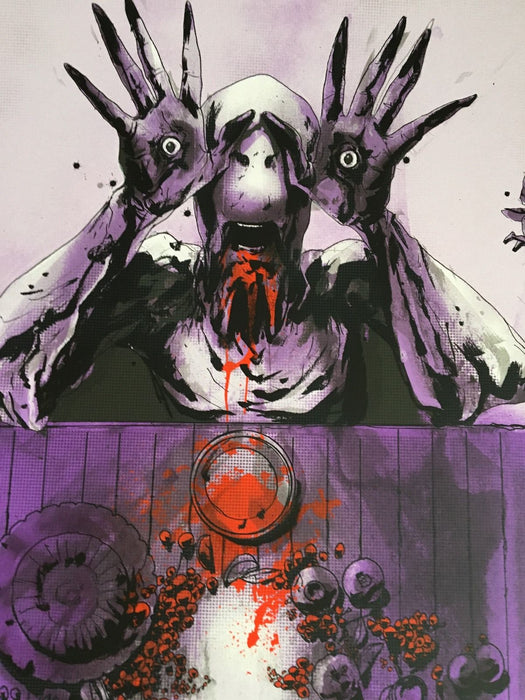Pan's Labyrinth SDCC Exclusive Mondo Print Variant Signed Del Toro & Jock /175-Cherry Collectables