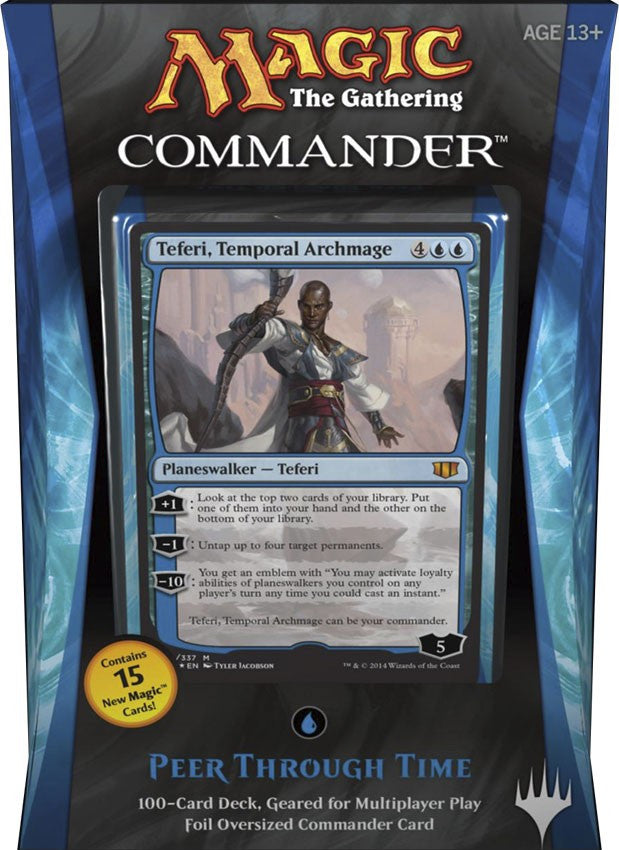 Magic The Gathering Commander Deck (2014) - Peer through Time-Cherry Collectables