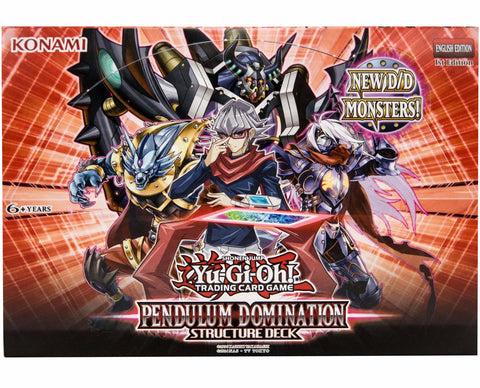 Yu-Gi-Oh! Pendulum Domination Structure 8-Deck Box-Cherry Collectables