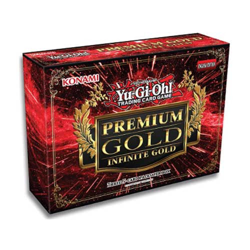 Yu-Gi-Oh! Collector Set - Premium Gold: Infinite Gold Mini Box-Cherry Collectables